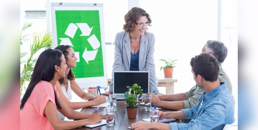 Promueve campañas de reciclaje en tu empresa